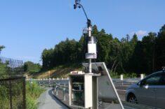 ソーラー式気象観測装置