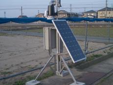 気象観測一体型放射線センサ